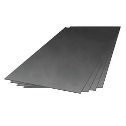 PLAQUE ALUMINIUM DURAL 5x497x247MM