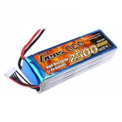 Accu LiPo GENS ACE 2500mAh 5S 25C