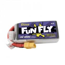Accu LiPo Tattu Funfly serie 1300mAh 3S 100C