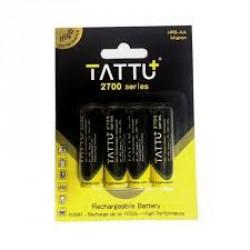 Batterie NiMH AA TATTU 1.2V-2700mAh (X4)