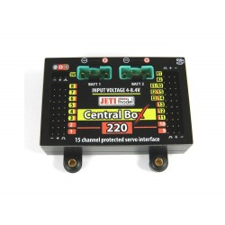Central Box 220 + 2X RSAT 2 JETI + Magnetic Switch