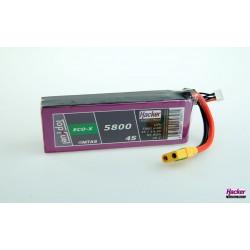 Accu LiPo TopFuel ECO-X 5800mAh 4S 20C
