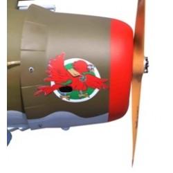 CAPOT POUR P-47 THUNDERBOLT RAZORBACK SEAGULL MODELS