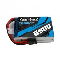 Accu LiPo 6900mAh 1S 3.8V HV pour émetteur Graupner