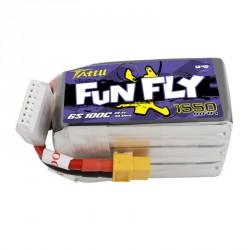 Accu LiPo Tattu Funfly serie 1550mAh 6S 100C