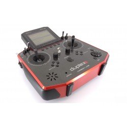 Jeti Duplex - DS16II Carbone + R10 - Rouge multimode