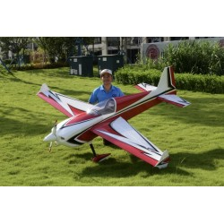 "SKYWING 104"" SLICK 360 V2 ARF 2641MM ROUGE COVERING"