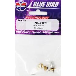 Set pignons servo BMS-125WV BLUE BIRD
