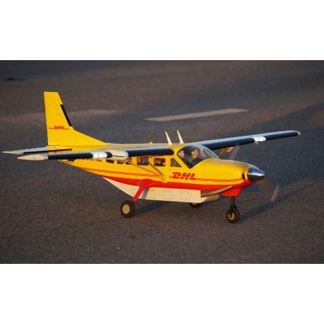 CESSNA 208 GRAND CARAVAN ARF 1700MM BLANC/BLEU VQ MODEL
