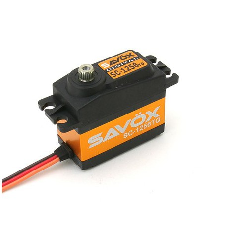 SAVOX SC-1256TG  52.4grs/20kg