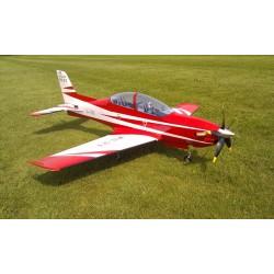 PILATUS PC-21 50E SEBART ARF 1.51M Rouge/Blanc