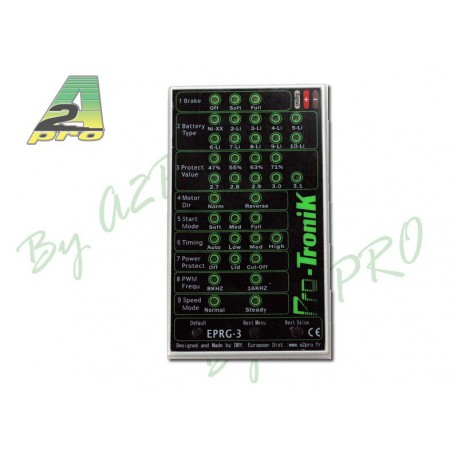 CARTE DE PROGRAMMATION E-PRG-3 CONTROLEUR BRUSHLESS PRO-TRONIK