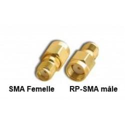 Adaptateur SMA vers RP-SMA