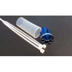 Réducteur de bruit pour pot compact Ø19mm