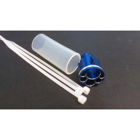 Réducteur de bruit pour pot compact Ø15mm