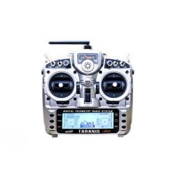 Radio Taranis PLUS 16 voies carton (mode 1)+ Récepteur X8R (R9M) FrSky