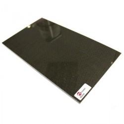 PLAQUE CARBONE/BALSA 480 x 290 x 3 mm