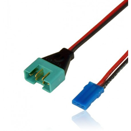 Câble adaptateur MPX mâle / UNI JR 10cm