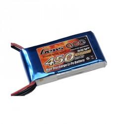 Accu LiPo GENS ACE 450mAh 3S 25C