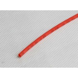 Gaine thermorétractable 2mm rouge 1M
