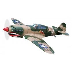 P-40C TOMAHAWK GP V2 1.66M  ARF BLACK HORSE