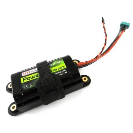 Batterie de réception JETI Ion 2600mAh 2S1P