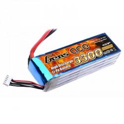 Accu LiPo GENS ACE 3300mAh 4S 25C