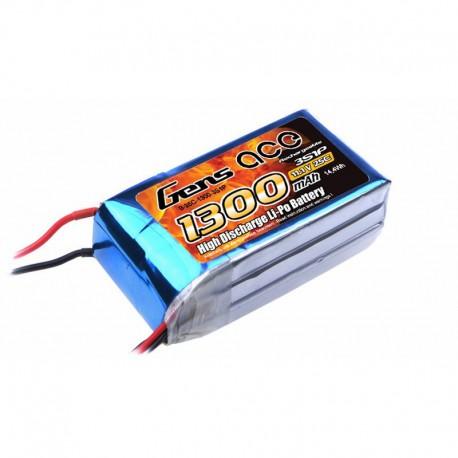 Accu LiPo GENS ACE 1300mAh 3S 25C