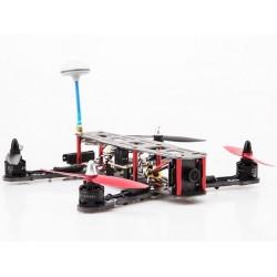 FPV racer AQ250 kit (avec moteurs, contrôleurs, carte CC3D, LED, caméra et émetteur vidéo )