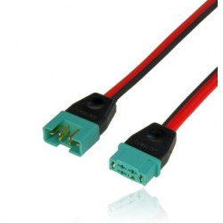 Rallonge avec connecteur MPX -PIK 1.0mm² PowerBox