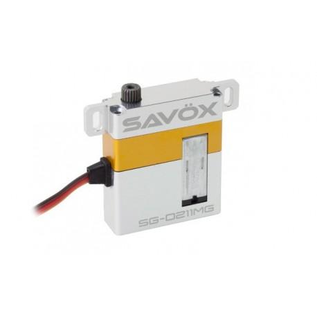 SAVOX SG-0211MG 29grs/8kg